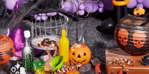 Halloween party kellékek