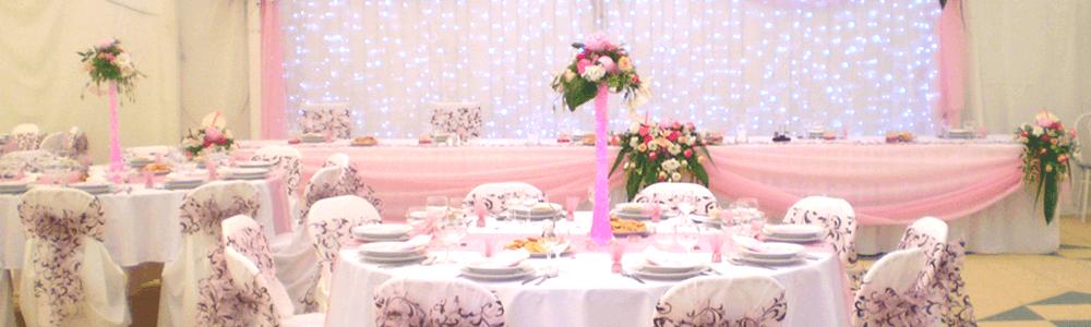 Lufi dekoráció esküvőre